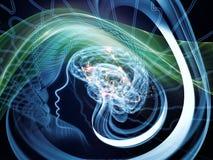 Danza de la mente ilustración del vector