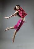 Danza de la muchacha Imágenes de archivo libres de regalías