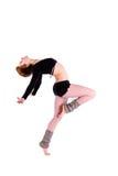 Danza de la mujer Fotos de archivo libres de regalías