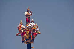 Danza de las Voladores Royalty Free Stock Photography