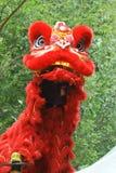 Danza de león del chino malasio Fotografía de archivo