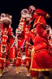 Danza de leones Fotos de archivo libres de regalías