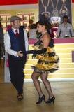 Danza de los bailarines JUNWEX Moscú 2014 Fotografía de archivo