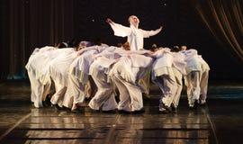 Danza de los niños en etapa Imagenes de archivo