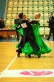 Danza de los pares Foto de archivo libre de regalías