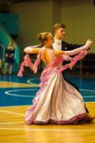 Danza de los pares Fotos de archivo