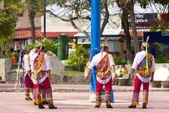 Danza de Los voladores, Μεξικό, καραϊβικό Στοκ εικόνα με δικαίωμα ελεύθερης χρήσης