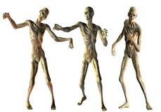 Danza de los zombis de los undead Imagen de archivo