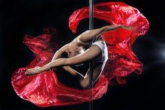 Danza de poste Fotografía de archivo