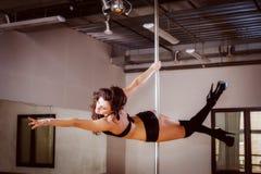 Danza de poste Foto de archivo libre de regalías