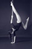 Danza de poste Imagen de archivo libre de regalías