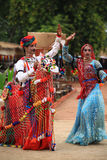 Danza de Rajasthani Fotografía de archivo libre de regalías