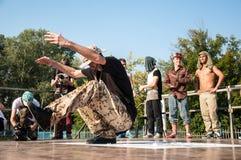 Danza de rotura del artista Imagenes de archivo