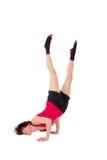Danza de rotura femenina joven del baile Foto de archivo libre de regalías