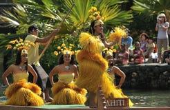 Danza de Tahití Fotografía de archivo