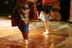 Danza de Tailandia Foto de archivo libre de regalías