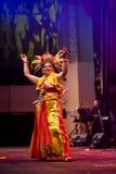Danza de Tradisional del indonesio Fotografía de archivo