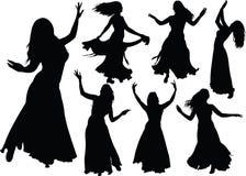 Danza de vientre Fotografía de archivo libre de regalías