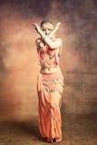 Danza de vientre Fotos de archivo libres de regalías