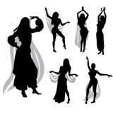 Danza de vientre Foto de archivo libre de regalías