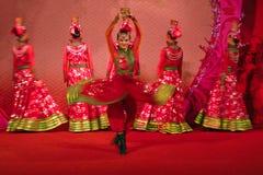 Danza de Xinjiang Foto de archivo