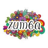 Danza de Zumba Fotos de archivo
