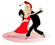 Danza del amor Imágenes de archivo libres de regalías