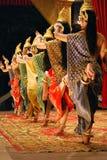 Danza del apsara del Khmer Fotos de archivo