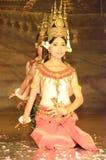 Danza del apsara del Khmer Foto de archivo