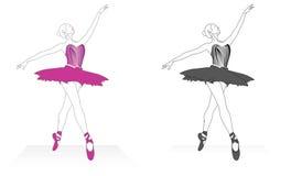 Danza del ballet Fotografía de archivo libre de regalías