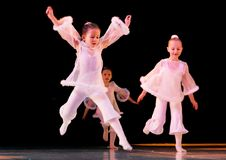 Danza del Bellflower Foto de archivo