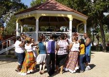 Danza del Caribe Imágenes de archivo libres de regalías
