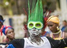 Danza del carnaval Imagen de archivo libre de regalías