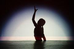 Danza del chino Imagenes de archivo