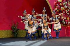 Danza del chino Fotos de archivo