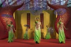 Danza del chino Imagen de archivo