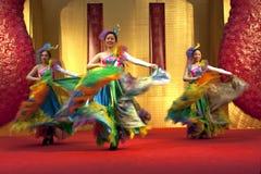 Danza 2 del chino Foto de archivo
