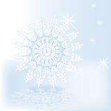 Danza del copo de nieve Fotografía de archivo libre de regalías