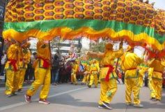 Danza del dragón Fotos de archivo