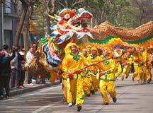Danza del dragón Imagen de archivo libre de regalías