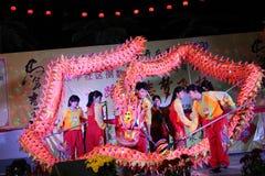 Danza del dragón Foto de archivo