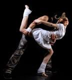 Danza del estilo libre fotografía de archivo