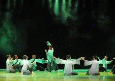 Danza del exorcismo de la caja- de la fortuna Foto de archivo