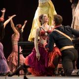 Danza del flamenco Imagen de archivo libre de regalías