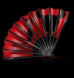 Danza del flamenco de la fan libre illustration