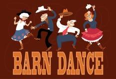 Danza del granero libre illustration
