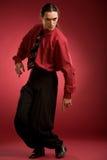 Danza del hombre de negocios Foto de archivo libre de regalías