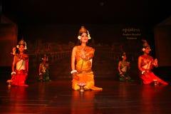 Danza del Khmer Imagen de archivo libre de regalías