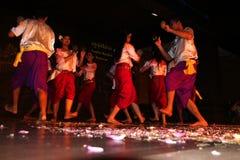 Danza del Khmer Fotos de archivo
