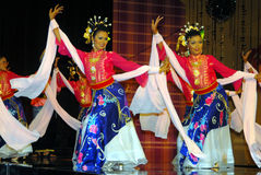Danza del Mak Yong Fotografía de archivo